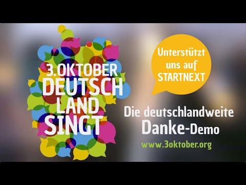 3. Oktober – Deutschland singt – Die Crowdfunding-Kampagne