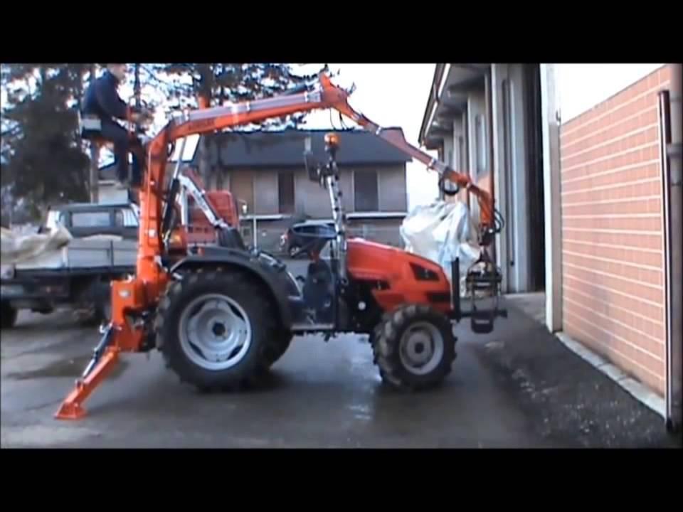 Agri Sav Caricatore Forestale P A S 450 Youtube