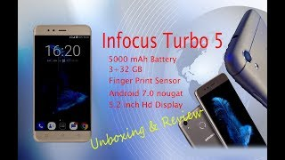 Infocus Turbo 5 Unboxing And Hands Review (Spes, Camera and Feature)... life goes on