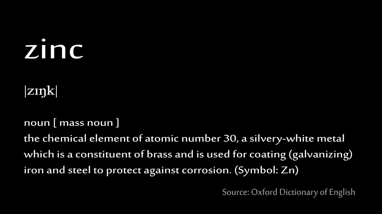30 zink how to pronounce chemical elements periodic table youtube 30 zink how to pronounce chemical elements periodic table urtaz Gallery