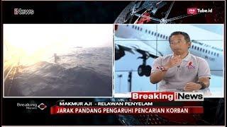 Cerita Penyelam Relawan Saat Lakukan Pencarian Lion Air PK-LQP - Breaking iNews 06/11