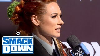Becky Lynch Looks Forward To Special Smackdown Premiere: Smackdown Exclusive, Oc