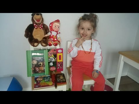 Маша и Медведь, детские книжки  Машины сказки Kуклы и игрушки Masha And The Bear, Children's Books