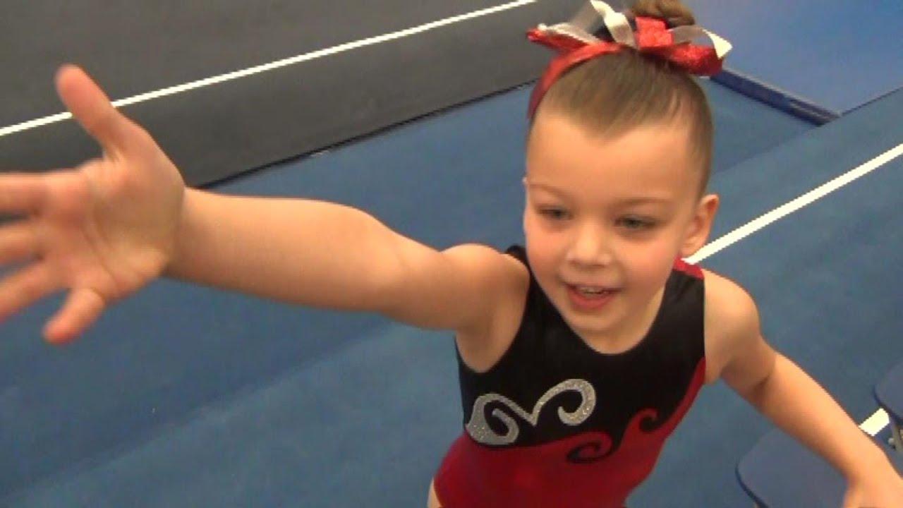 Blakely - Second Level 1 Gymnastics Meet - YouTube