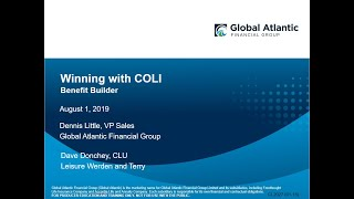"Winning with COLI:  ""Company"" Owned Life Insurance!"