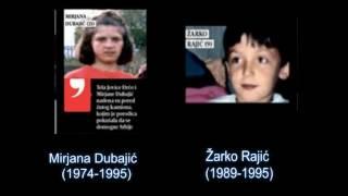 Сербские дети - жертвы войны в Боснии (1992-1995) †