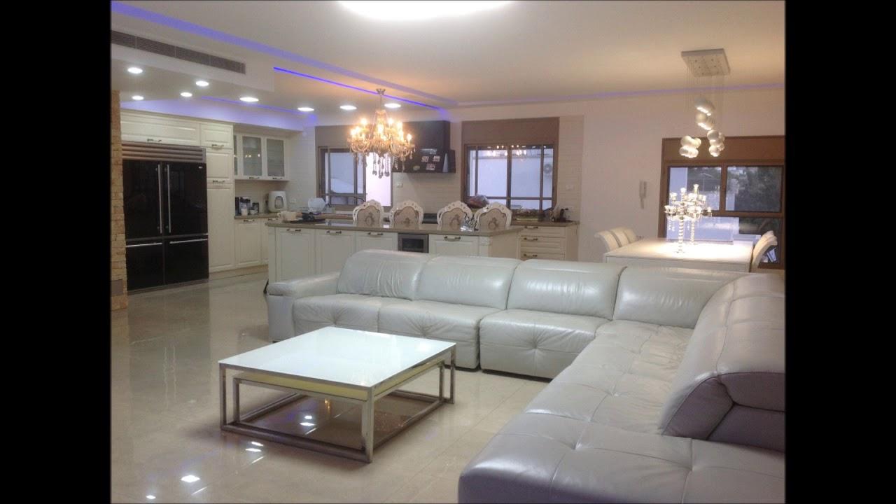 מודרני פנטהאוז למכירה בנהריה דירה מושקעת במפלס אחד על כל הקומה - YouTube UQ-31