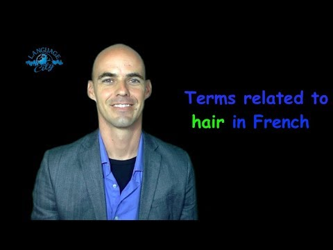 French vocabulary related to hair