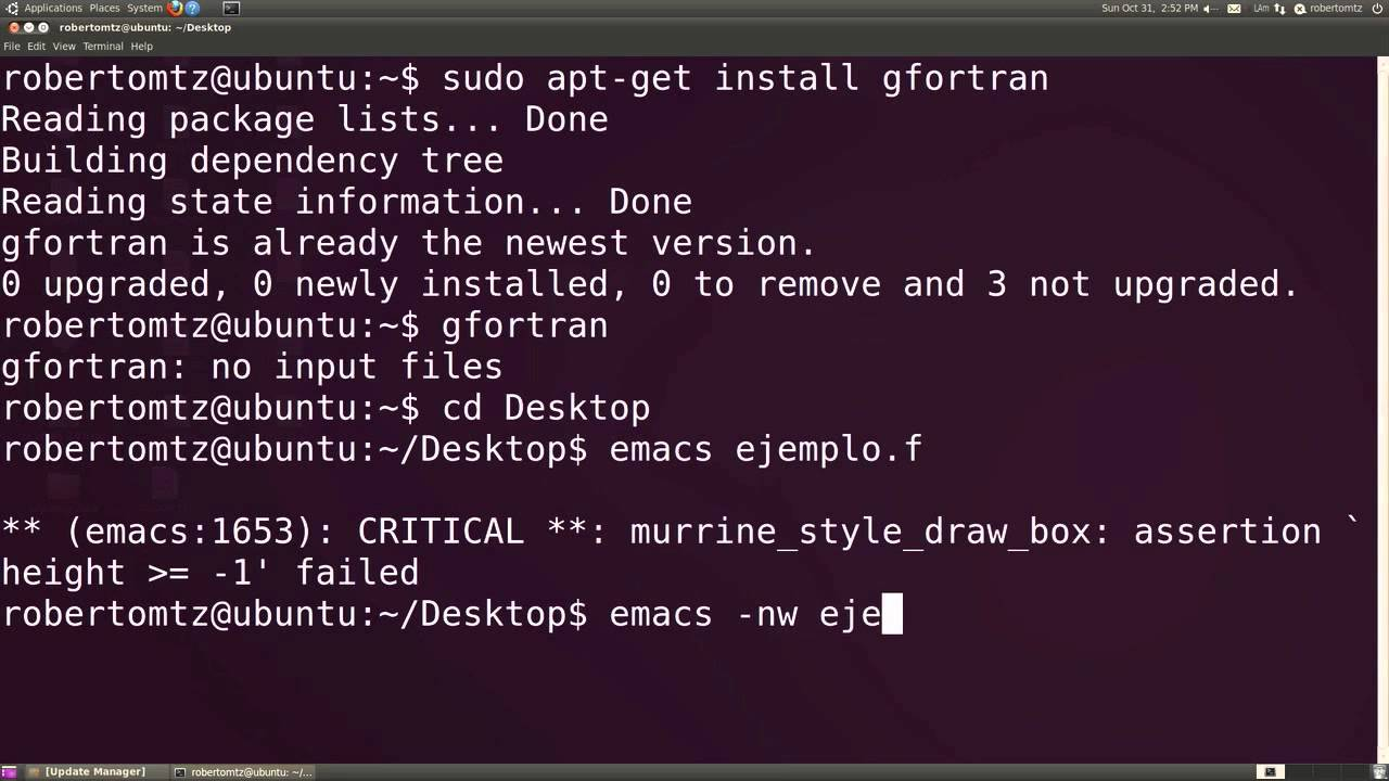 fortran ubuntu