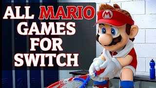 All Mario Games For Switch (2018) Nintendo Switch Super Mario Games