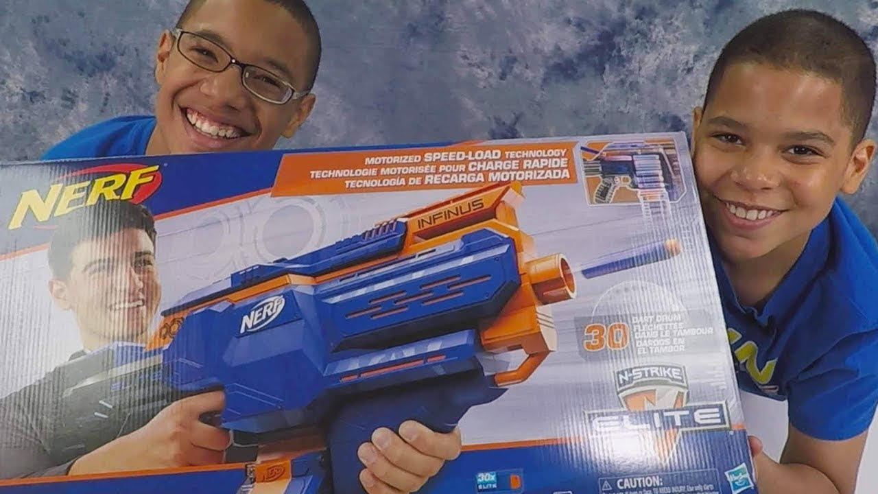 NERF N-Strike Elite Infinus Unboxing and Review