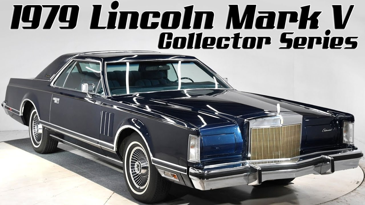Lincoln Mark V Collectors Series 1979 Tool Kit Information Card Tool Kit