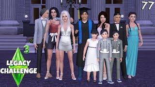 Er hat die Schule abgeschlossen! - Die Sims 3 Legacy Challenge Part 77| simfinity