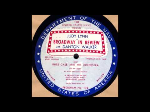 Broadway in Review #17B: Judy Lynn - ca. 1953 - Remastered by David Bahr