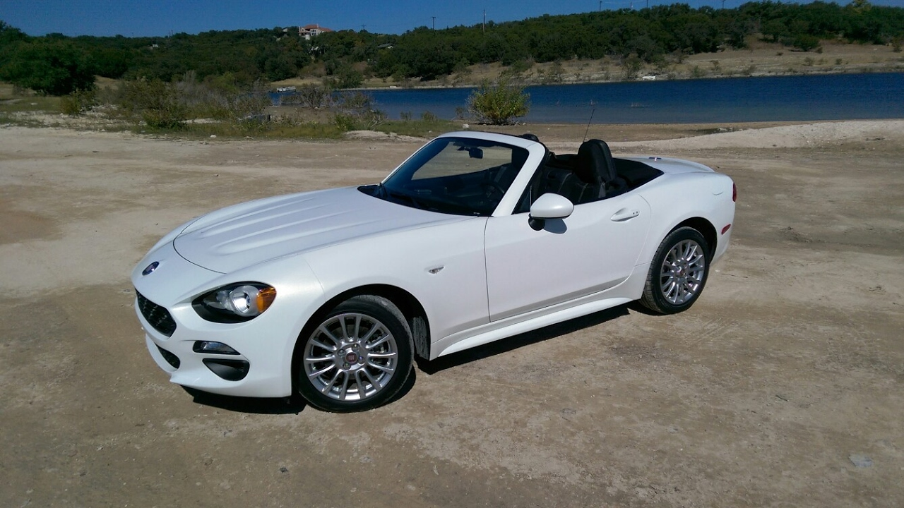 2017 Fiat 124 Spider Manual Too Much Fun