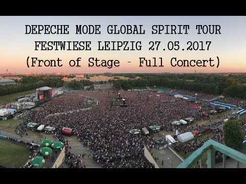 DEPECHE MODE // GLOBAL SPIRIT TOUR //CONCERT (FOS) // LEIPZIG 27.05.2017