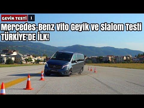 TÜRKİYE'DE İLK! | Mercedes-Benz Vito Geyik Ve Slalom Testi