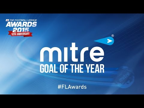 Mitre Goal of the Year Top 5 - Football League Awards 2015