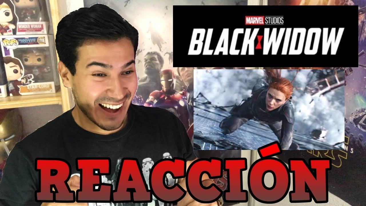 REACCIÓN TRAILER 2# OFICIAL BLACK WIDOW | GuayoChannel