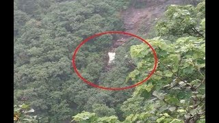 viral video of Ambenali ghat bus accident