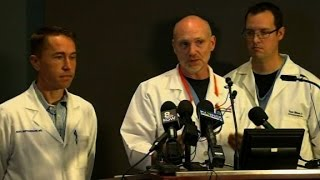 Doctor: Two shooting victims 'intubated and sedated...