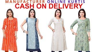 Latest Designer Kurta Kurti for Women 2021 Buy Online Kurta for Women Cash On Delivery