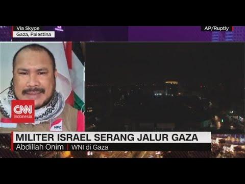 Militer Israel Serang Jalur Gaza
