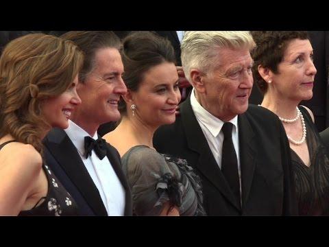 """Cannes: Lynch sur le tapis rouge pour """"Twin Peaks"""", saison 3"""