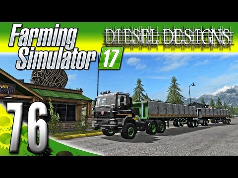 Farming Simulator 2017 Gameplay :EP76: Double Wool Trailers!  BIG MONEY! (PC HD Goldcrest Valley)