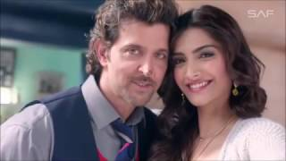 Mere Rashke Qamar - Junaid Asghar || Starring Hrithik Roshan and Sonam Kapoor || Beautiful Song 2017