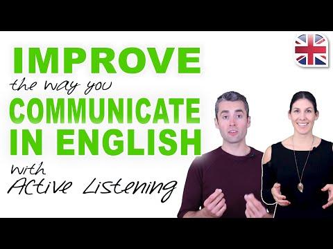 Active Listening in English - Improve English Communication Skills