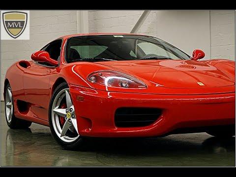 2001 Ferrari 360 F1 Modena Coupe | MVL leasing.com - Toronto Exotics