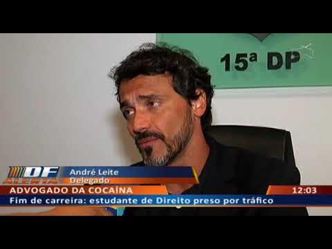 DF ALERTA - Estudante do ultimo semestre de Direito preso por tráfico