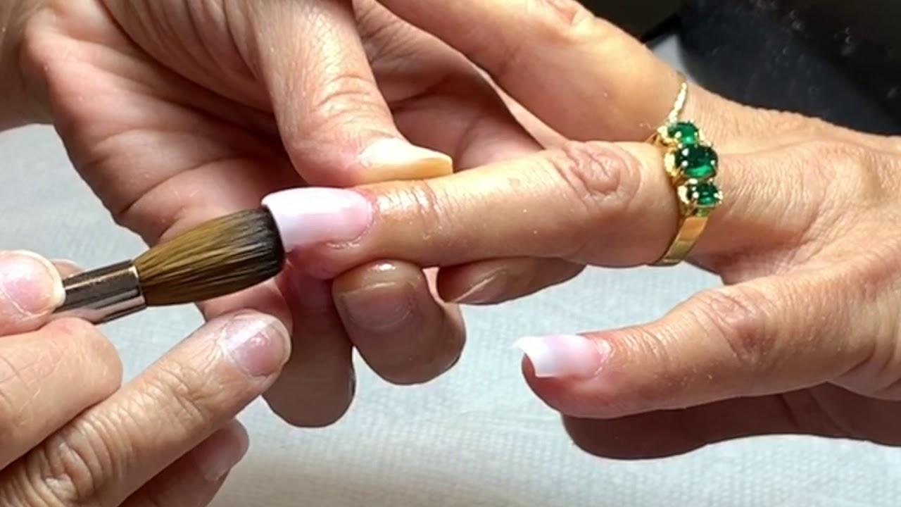 Cách Đắp Bột Fullset Móng Không Móng Vịt Bầu Hóa Thiên Nga