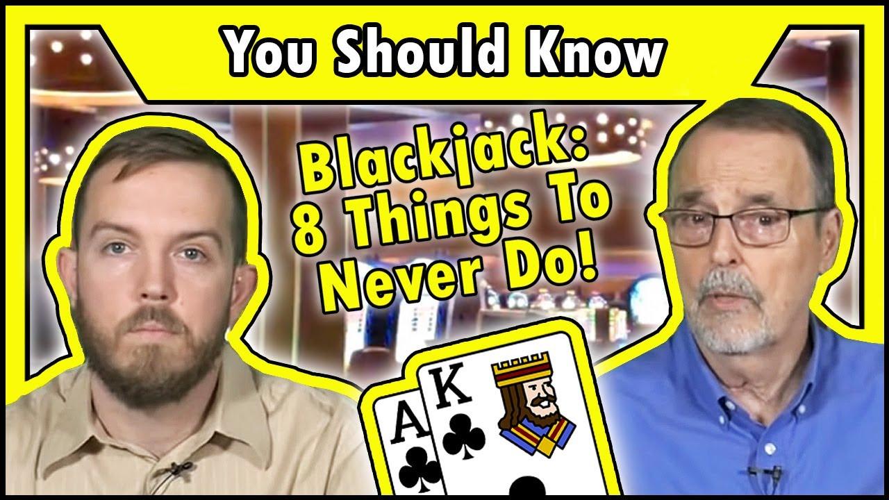 casino blackjack table etiquette
