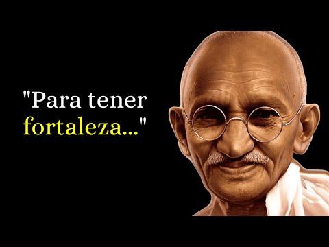 Las 41 Mejores Frases de Mahatma Gandhi (Narradas)