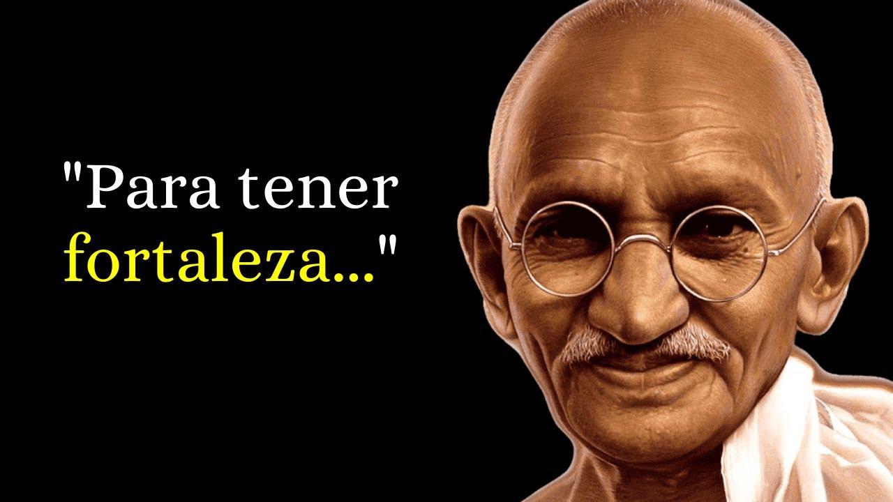 Las 100 Mejores Frases De Mahatma Gandhi Lifeder