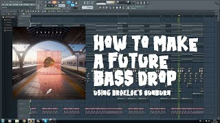 Tutorial - How to make a Future Bass drop in FL Studio (DROELOE - Sunburn) [Free FLP]