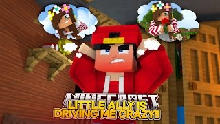 Minecraft Adventure - LITTLE ALLY IS DRIVING ROPO CRAZY!!