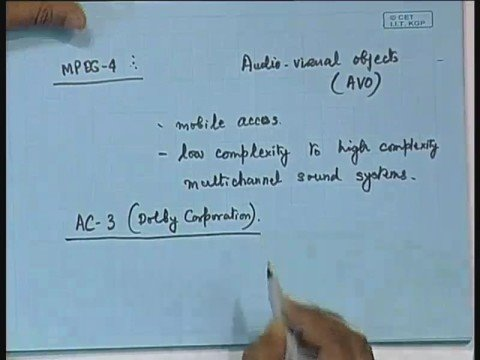 Lecture - 28 Audio Coding: Basic Concepts