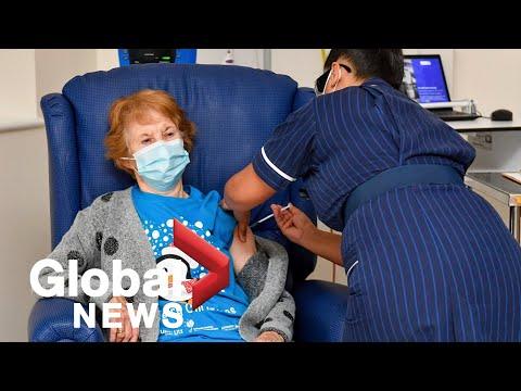 Coronavirus: Mass COVID-19 vaccination rollout begins in UK