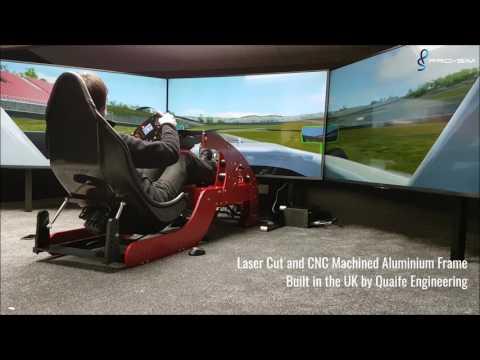 Pro-Sim Evolution F1 Simulator - A Lap of Mugello in an F4
