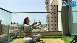 Йога для беременных, инструктор Яна Лев