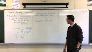 Probability Fundamentals (2 of 2: The Addition Rule, Complements)