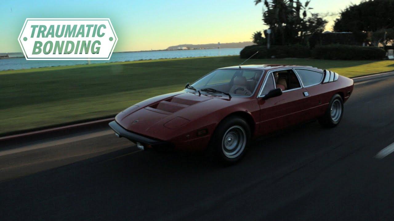 Traumatic Bond With A Lamborghini Urraco Youtube