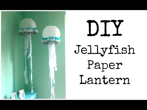 DIY: Jellyfish Lantern ♡ {Nursery Series} ♡ Jessica Joaquin