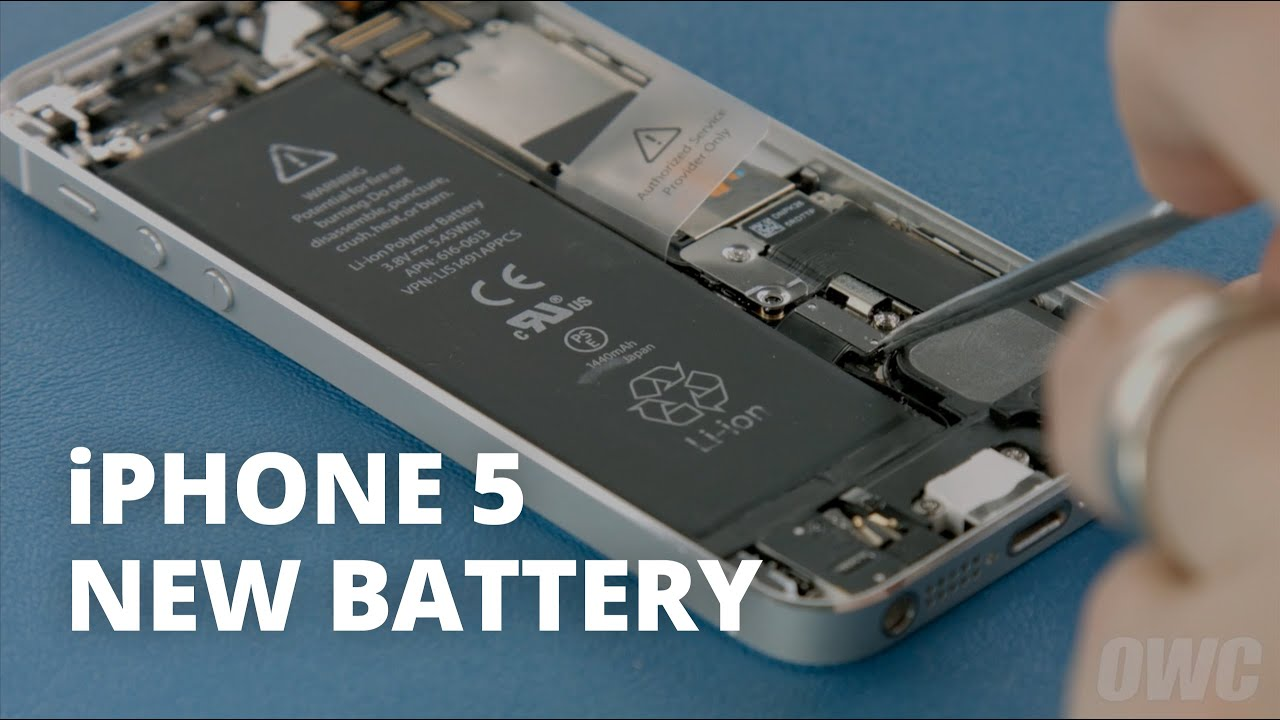 replacing iphone 5 battery how to replace the battery in an iphone 5 15999