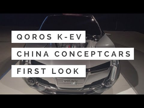 China's Qoros K-EV Concept: A Ground-Bound Fighter Jet for the Luxury Set