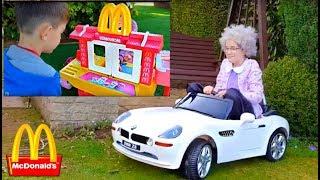 McDonald's Drive Thru with Granny