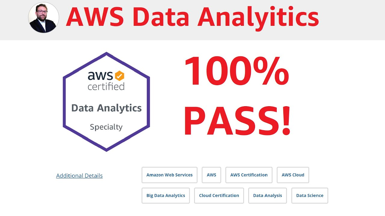 Best practice questions for the AWS Certified Data Analytics - Specialty DAS-C01 certification!